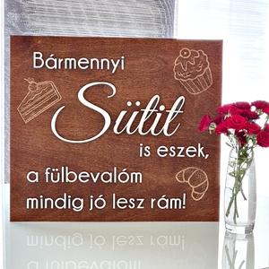 ESKÜVŐI TÁBLA � SÜTI - esküvő - dekoráció - tábla & jelzés - Meska.hu