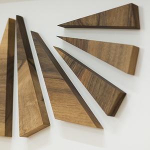 Modern kép, Kép & Falikép, Dekoráció, Otthon & Lakás, Famegmunkálás, Fából készült modern kép, egy letisztult lakás tökéletes dísze!, Meska