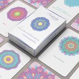 A Segítség energiái kártyapakli, Társasjáték & Puzzle, Játék & Gyerek, Fotó, grafika, rajz, illusztráció, A kártyák méretei:\nSzélesség 8 cm\nMagasság 12 cm\n\nLekerekített sarkok.\nMindegyik kártya védőfóliával..., Meska