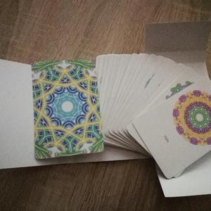 A Hála energiái kártyapakli, Társasjáték & Puzzle, Játék & Gyerek, Fotó, grafika, rajz, illusztráció, A Hála áramoltatása a mindennapjainkban!\n\nA kártyák méretei:\nSzélesség 8 cm\nMagasság 12 cm\n\nLekerekí..., Meska