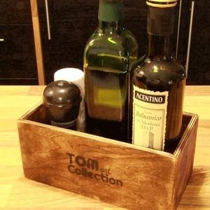 Fűszertároló doboz, fadoboz, doboz, virágtartó, tároló (TomArtCollection) - Meska.hu