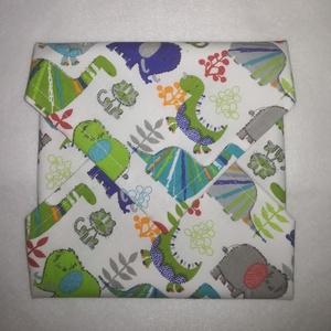 Textil szalvéta , Gyerek & játék, Otthon & lakás, NoWaste, Varrás, A környezettudatosság jegyében ajánlom ezt a textil szalvétát. Mindennapi használatával a környezetü..., Meska