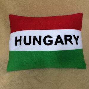 Hungary szurkolói párna - Meska.hu