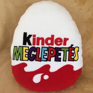 Kinder tojás alakú párna fiúknak, Lakberendezés, Otthon & lakás, Lakástextil, Párna, Varrás, Patchwork, foltvarrás, Mindjárt itt a gyereknap ! \n\nAjándélk  is kíváló lehet ez a kinder tojás alakú párna !\nNincs olyan g..., Meska