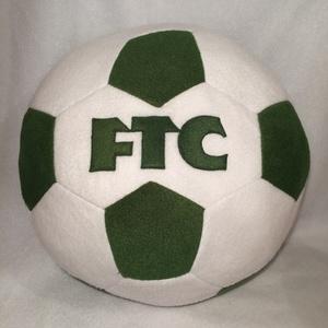 FTC focilabda párna, Férfiaknak, Focirajongóknak, Lakberendezés, Otthon & lakás, Lakástextil, Varrás, Patchwork, foltvarrás, FTC feliratos foci labda alakú párna foci rajongóknak. Puha polár anyagból készült.\n30cm átmérőjü\nAl..., Meska