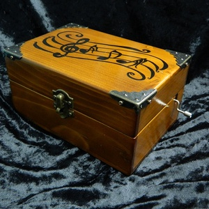 zenélő doboz (Tizsuarte) - Meska.hu