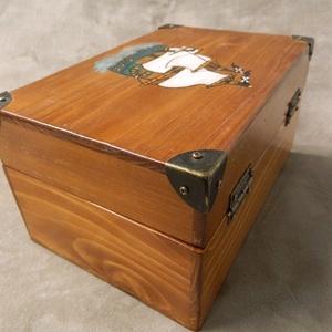Nagy kincses doboz (Tizsuarte) - Meska.hu