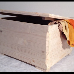 Doboz, Làda làdikó , Láda, Tárolás & Rendszerezés, Otthon & Lakás, Famegmunkálás, Festett tárgyak, Fából készült kézműves láda rendelhető több színben!\n\nMéretei: 40*27*27 cm \n\nLádáinkat egyedileg kés..., Meska