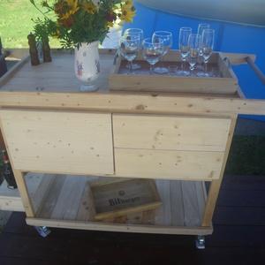 Grillezéshez kisegítő toló asztal (tothalex) - Meska.hu