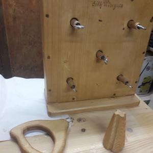 Kötélverő., DIY (Csináld magad), Workshop & Tanfolyam, Famegmunkálás, Meska