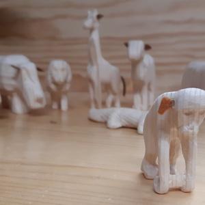 Zoo - állatkerti állatok, Játék & Gyerek, Famegmunkálás, Állat kerti állatok,  festhető fenyöfából készűlt fa figurák .\nMinden ami a foton látható .\n mérete ..., Meska