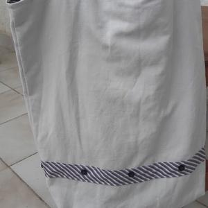 Lovas táska lenvászonból. Felejtsd el a műanyagot! (tozsu11) - Meska.hu