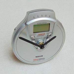 Retro Watson MP3 walkman CD lejátszó aszali vagy fali óra zenészeknek, DJ -nek, zene rajongóknak, férfiaknak - 1 (Trashman) - Meska.hu
