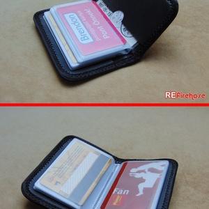 Tűzoltó tömlő strapabíró bankkártya névjegykártya irattartó biztonságos kártya tartó 24 + 2 kártya számára - PROMETHEUS - Meska.hu