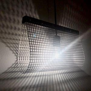 Ipari stílusú fém rácsos mennyezeti függő lámpa, fali éjjeli lámpa, design loft lámpa, árnyékot vető csillár, Férfiaknak, Legénylakás, Otthon & lakás, Lakberendezés, Lámpa, Fali-, mennyezeti lámpa, Hangulatlámpa, Fémmegmunkálás, Újrahasznosított alapanyagból készült termékek, Kedveled az egyszerű, letsztult stílusú ipari dizájnt?\n\nModern kinézetű, ipari jellegű mennyezeti fü..., Meska