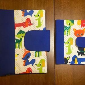 Kék állatos-Babalátogató ajándék csomag, Babalátogató ajándékcsomag, Játék & Gyerek, Varrás, Patchwork, foltvarrás, Babalátogató ajándékcsomag\n\n \n\nPiros pöttyös katicás kislány 2 db-os szett. \n\n \n\nA szett tartalma 1 ..., Meska