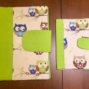 Zöld baglyos-Babalátogató ajándék csomag, Babalátogató ajándékcsomag, Játék & Gyerek, Varrás, Patchwork, foltvarrás, Babalátogató ajándékcsomag\n\n \n\nPiros pöttyös katicás kislány 2 db-os szett. \n\n \n\nA szett tartalma 1 ..., Meska
