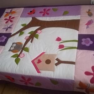 Baglyos ágytakaró  (Trippobeata) - Meska.hu