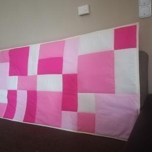 Rózsaszín modern falvédő  (Trippobeata) - Meska.hu