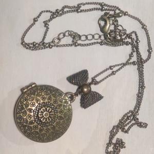 nyitható medál, Ékszer, Nyaklánc, Medálos nyaklánc, Ékszerkészítés, Meska