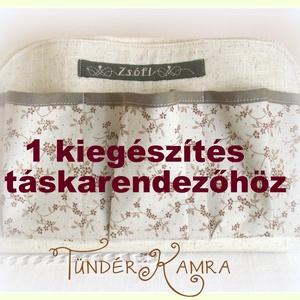 Kiegészítés táskarendezőhöz:  névfelirat / csipke / szalag / cipzár / kulcstartó (Tunderkamra) - Meska.hu