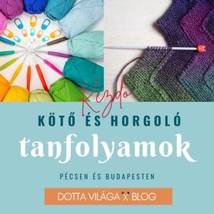Kötő és horgoló tanfolyam - Pécsen és Budapesten - kezdőknek, DIY (Csináld magad), Workshop & Tanfolyam, Horgolás, Kötés, Meska