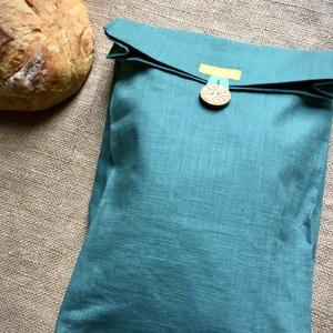 Kenyér, pékárú frissentartó zsák, bevizsgált, élelmiszerbarát PUL béléssel (nagy méret) (Tundertaska) - Meska.hu