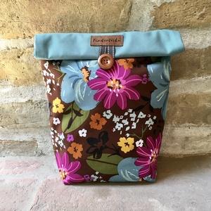 Uzsonnás táska,  PUL béléssel (élelmiszerbiztos) (Tundertaska) - Meska.hu
