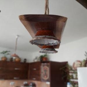 Vintage lámpa, Otthon & Lakás, Lámpa, Fali & Mennyezeti lámpa, Famegmunkálás, Egyedi fali lámpa, a vintage stílus szeretőinek. , Meska