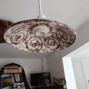 Vintage lámpa, Otthon & Lakás, Lámpa, Fali & Mennyezeti lámpa, Újrahasznosított alapanyagból készült termékek, A régies stílus kedvelőinek készítünk régi csészékből lámpát., Meska