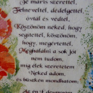 Édesanyámnak (tuzcica) - Meska.hu