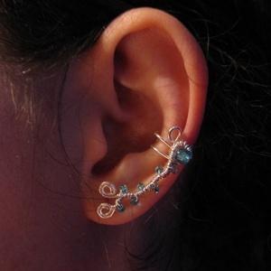 Fülgyűrű, Ékszer, Fülbevaló, Fülgyűrű, Ékszerkészítés, Fémmegmunkálás, Meska