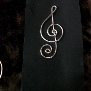 Violinkulcs könyvjelző vagy meál !, Otthon & Lakás, Könyvjelző, Papír írószer, Ékszerkészítés, Fémmegmunkálás, Meska
