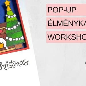 Karácsonyi, interaktív képeslap készítő online workshop - Meska.hu