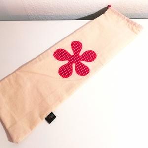 Baguettes zsák (magenta pöttyös) (unitadesign) - Meska.hu