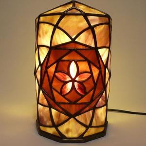 egyedi tiffany lámpa - világítótest (uvegcse) - Meska.hu