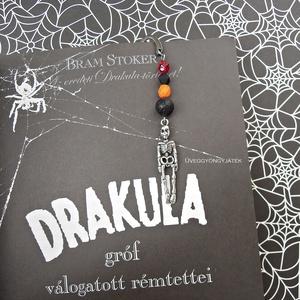 Könyvjelző rémtörténetekhez  -  ásvány könyvjelző (uveggyongyjatek) - Meska.hu