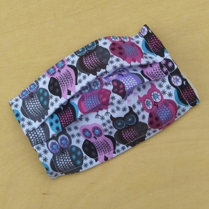Gyermek méretű 1 rétegű mosható szájmaszk  , NoWaste, Textilek, Kendő, Varrás, Mosható, vasalható, többször felhasználható egyrétegű szájmaszk, fülnél csomózott gumival lehet egyé..., Meska