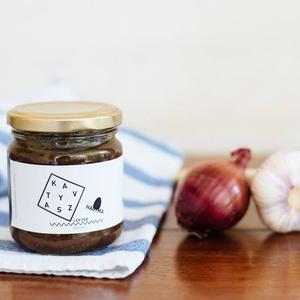 Katyvasz lila hagymalekvár , Élelmiszer, Lekvár, Élelmiszer előállítás, A lila hagyma a főzés előtt megpirítjuk, majd felfőzzük balzsamecettel, olívaolajjal és vörösborral...., Meska