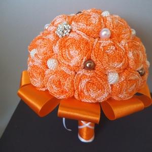 Narancs ombre örökcsokor (vadvirag680) - Meska.hu