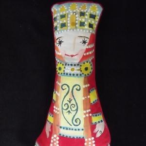 Piroska királylány - puha textilfigura (vancsavarr) - Meska.hu