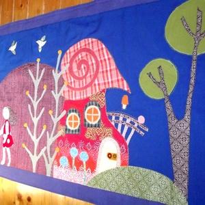 Manós falikép 260 x 70 cm (vancsavarr) - Meska.hu