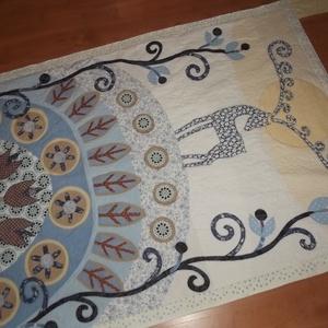 Álló falvédő szarvassal 160 x 100 cm (vancsavarr) - Meska.hu