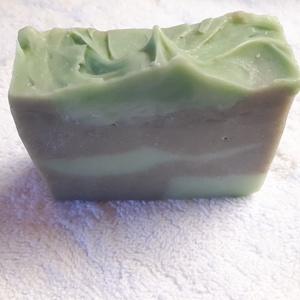 Zöld agyagos arctisztító szappan  (Vandini) - Meska.hu
