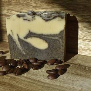 Juhtejes kávé szappan, Szépségápolás, Szappan & Fürdés, Szappan, Szappankészítés, A juhtej segítségével a bőröd még gyakori használatuk mellett sem szárad ki, kifejezetten bőrbarát, ..., Meska
