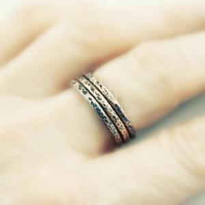 trinity - vörösréz gyűrű (vanillinum) - Meska.hu