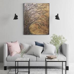 Az élet fája, Művészet, Festmény, Festmény vegyes technika, Festészet, Az élet fája bevonzza az univerzum pozitív energiáit, megteremti a természeti erők közti egyensúlyt ..., Meska