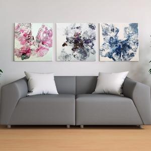Pillangók, Művészet, Festmény, Akril, Festészet, Bevonzza az univerzum pozitív energiáit, segít felfedni az igazságot. Nyugalmat, védelmet és biztons..., Meska
