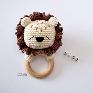 """Horgolt oroszlán babajáték \"""" Leo\"""", Gyerek & játék, Gyerekszoba, Játék, Baba játék, Horgolás, Szállítás Június első hete. :-)\n\nKedves baba játékot készítettem sok szeretettel.\nNagyon kedves aján..., Meska"""