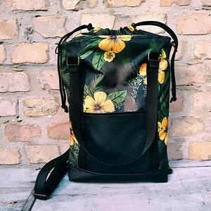 3 in 1 többfunkciós vízálló virágos hátizsák, Táska & Tok, Hátizsák, Hátizsák, Varrás, Meska
